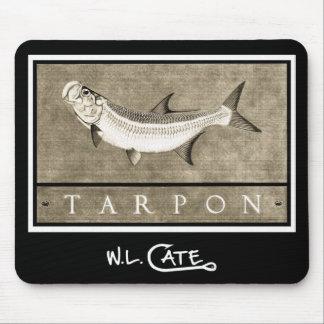Tarpon Vintage Black White Mouse Pads