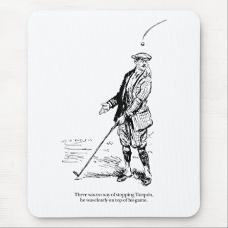 Tarquin and Golf Mouse Pad