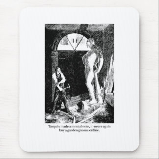 Tarquin and the Garden Gnome Mouse Pad