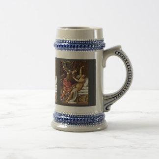 Tarquinius And Lucretia By Tizian 18 Oz Beer Stein