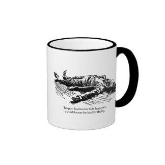 Tarquin's Birthday Celebration Ringer Mug