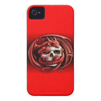 tarragon skull iPhone 4 Case-Mate case