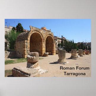 Tarragona Roman Forum Poster
