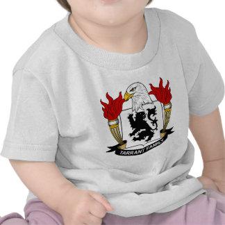 Tarrant Family Crest Tshirts