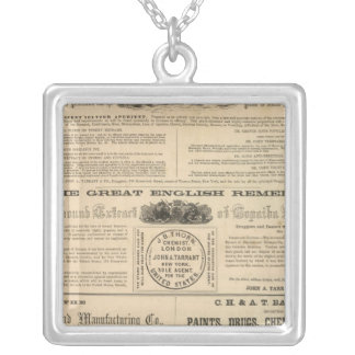 Tarrant's Preparations Silver Plated Necklace