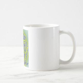 Tarro #3 del jengibre taza de café