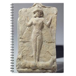 Tarro adornado con el cerco simbólico de los adorn note book