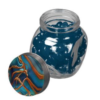 Tarro cósmico del caramelo de las ramas jarras de cristal jelly bely