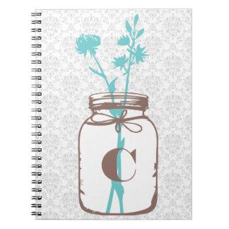 Tarro de albañil cuaderno