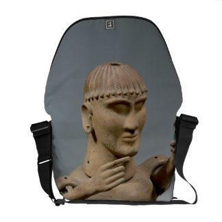 Tarro de Canopic con los brazos movibles (arcilla) Bolsas Messenger
