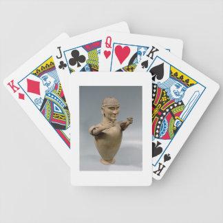 Tarro de Canopic con los brazos movibles (arcilla) Baraja Cartas De Poker
