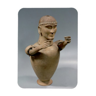 Tarro de Canopic con los brazos movibles (arcilla) Imán