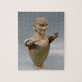 Tarro de Canopic con los brazos movibles (arcilla) Puzzles Con Fotos