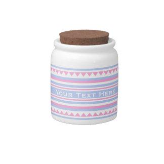 Tarro de encargo del caramelo del modelo jarra para caramelo