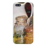 Tarro de enlatado con maíz iPhone 5 cárcasas