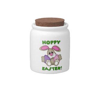 Tarro de lúpulo del caramelo de Pascua Plato Para Caramelo