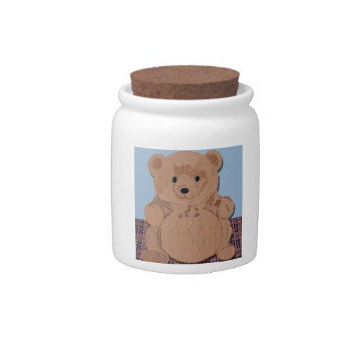 Tarro de Wes T. Bear Candy Jarras Para Caramelos
