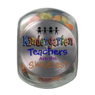 Tarro del caramelo de los maestros de jardín de jarrones cristal