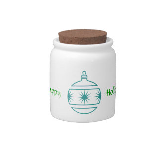 Tarro del caramelo - ornamentos jarras para caramelos