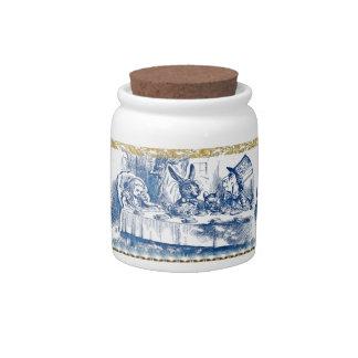 Tarro del caramelo - país de las maravillas jarras para caramelos