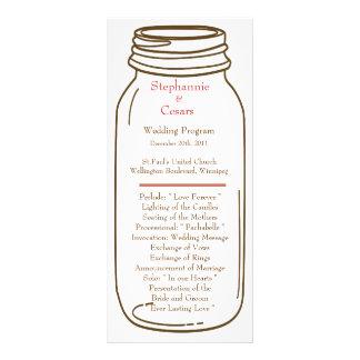 tarro del rosa del programa del boda 25 4x9/de alb lona publicitaria