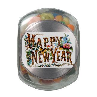 Tarro del vidrio de Belly™ de la jalea de la Feliz Frascos De Cristal