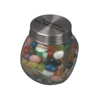 Tarro del vidrio del Belly de la jalea de la Jarras De Cristal Jelly Bely