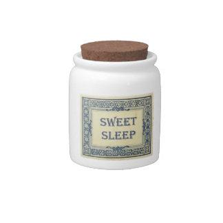 Tarro dulce del sueño jarras para caramelos
