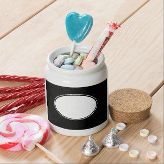 tarro personalizado del caramelo tarro de cerámica para dulces