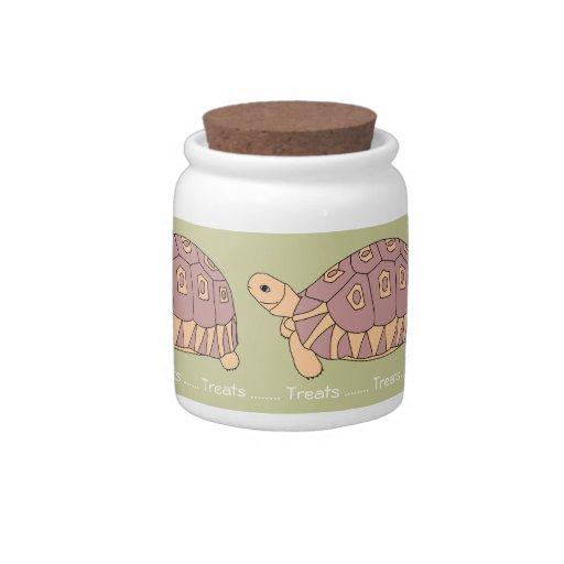 Tarro temático del caramelo de la tortuga jarras para caramelos