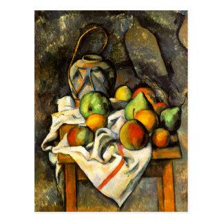 Tarro y fruta del jengibre por Cezanne Postales