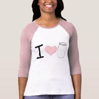Tarros de albañil del amor camisas