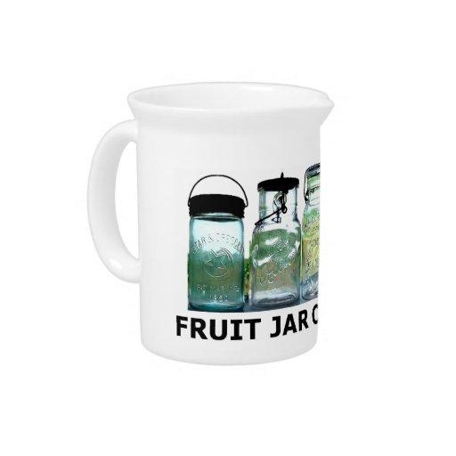 Tarros de albañil del vintage de las antigüedades  jarra de beber