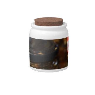 Tarros de carne picado jarra para caramelo