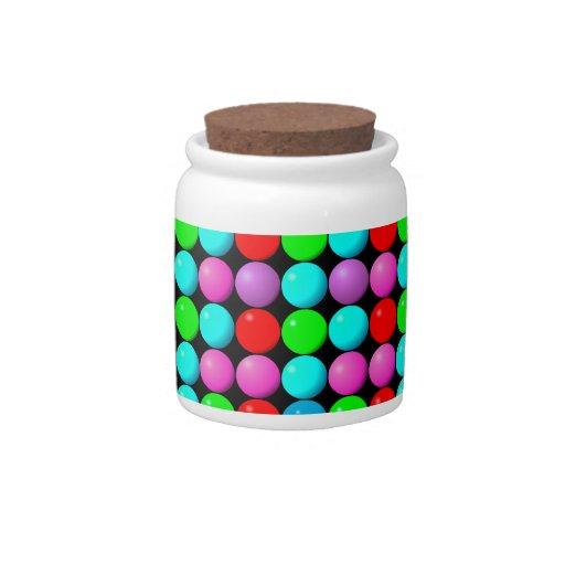 Tarros del caramelo de los caramelos tarro de cerámica para dulces