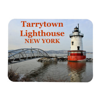 Tarrytown Lighthouse, New York 3x4 Magnet