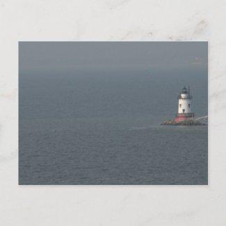 Tarrytown Lighthouse NY- Postcard postcard