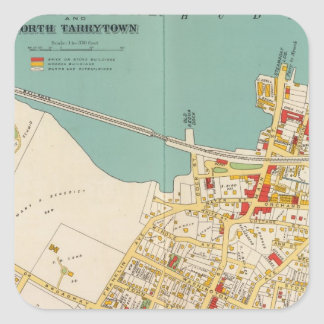 Tarrytown, N Tarrytown Pegatina Cuadrada