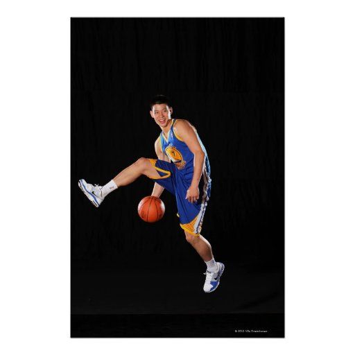 TARRYTOWN, NY - AUGUST 17:  Jeremy Lin #7 of the 7 Print