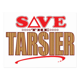 Tarsier Save Postcard