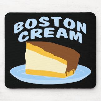 Tarta de crema de Boston Tapetes De Ratón