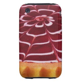 Tarta de frambuesa carcasa resistente para iPhone