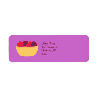 Tarta de Wildberry Etiquetas De Remite