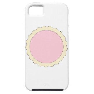 Tarta del atasco. Palidezca - el rosa. iPhone 5 Fundas