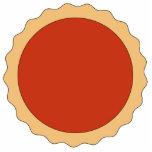 Tarta del atasco. Rojo de la fresa Escultura Fotográfica