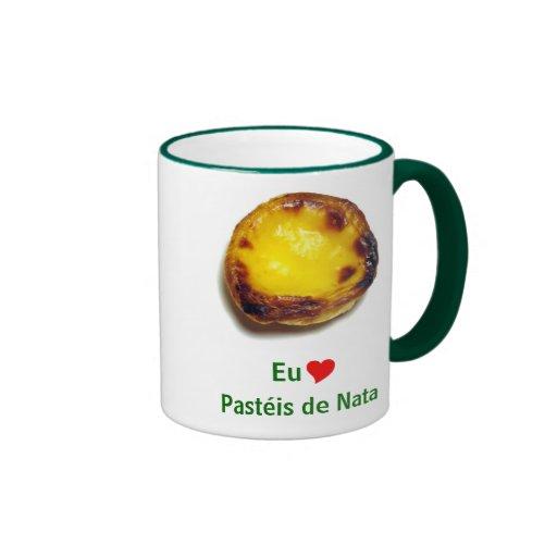 Tarta portuguesa de las natillas tazas