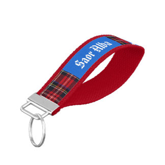Tartan Alba Scottish Independence Wrist Keychain
