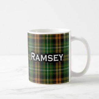 Tartán anaranjado escocés de la caza de Ramsay Taza