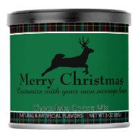 Tartan and Reindeer Hot Chocolate Drink Mix
