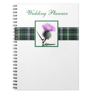 Tartan and Thistle Wedding Planner Notebook